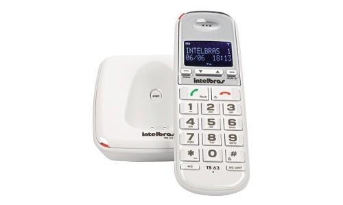 Telefone S/F Intelbras Ts63V Branco