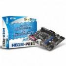 Placa Mae Msi H61M-P21 I3/I5/I7/1155 Pin
