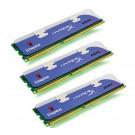 Memoria 3X4 Gb Ddr3 1600 Kingst Hyperx
